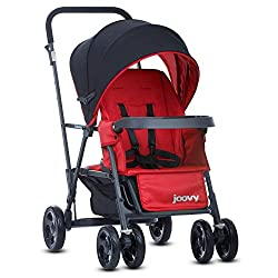 Double Stroller with car seat adaptor