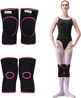 1 Par Rodilleras Deportivas de Esponja Apoyo de la Rodilla Unisex para Crossfit Voleibol Bicicleta Baloncesto