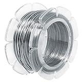 Rayher 24079000 Alambre de Acero Inoxidable, 0.5 mm diametro, Alambre para bisutería y Manualidades