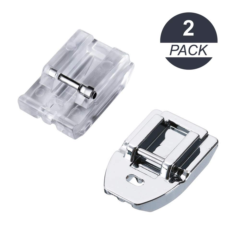 La Canilla ® - Kit 2 Prensatelas de Cremalleras Invisibles para ...