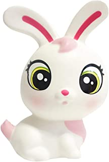 Squishy Jumbo Slow Rising Squishies Panda Dog Deer Bunny Rabbit Football Rugby Car Star Cake Kawaii Squishies Cream Scented Toys for Kids and Adults, Lovely Stress Relief Toy. (Rabbit White)