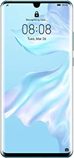 Huawei P30 Pro Smartphone, 128 GB 6.47 Inch OLED Display Smartphone with Leica Quad AI Camera, 8GB RAM, EMUI 9.1.0 Sim-Free Android Mobile Phone, Breathing Crystal