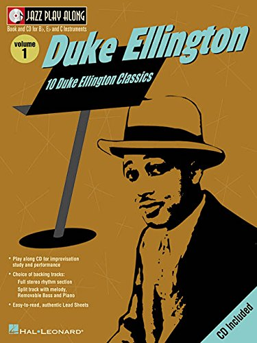 Duke Ellington: Jazz Play-Along Volume 1 Duke Ellington Music Book