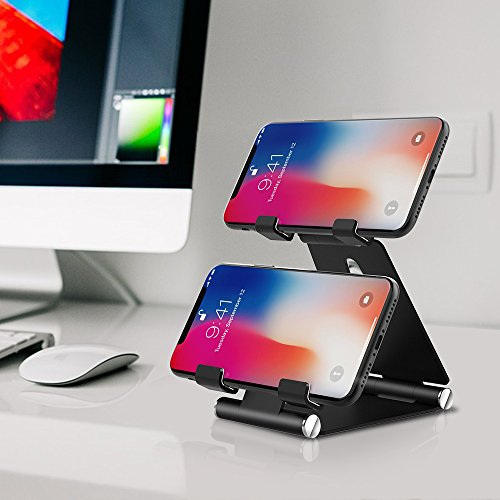 Rubber Coated Magnet Mounts with Metallic Plate System for Easy Attachment Strong Hold. 3 Magnetic Mounts to Secure Any Phone Triple Device Hand Grip for Live Streaming Livestream Gear