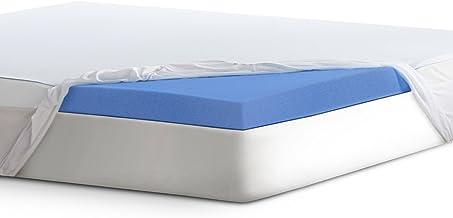 "Serta 3"" Lasting Dream Plus Gel-Infused Memory Foam Mattress Topper, Twin"