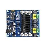 ARCELI XH-M548 Amplificateur de Puissance numérique Bluetooth TPA3116D2 bicanal 240W (120W2), Carte d'ampli Audio sans Fil, avec étui Acrylique