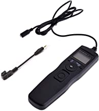 ABUYCS LCD Timer Remote Shutter Release for Sony A300 A350 A400 A450 A500 A550 A560 A580 A700 A850 A900 A33 A35 A37 A55 A57 A65 A67 A77 A99