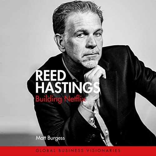 Reed Hastings cover art