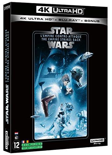 Star Wars, épisode V : l'empire Contre-Attaque 4k UHD Bonus [Blu-Ray]