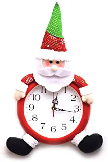 Hemore Adornos navideños de Dibujos Animados Reloj Viejo Hombre 1 Paquete