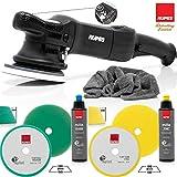 detailmate professionelles Rupes Poliermaschinen Set - LHR15ES Detailer Poliermaschine + 1 Medium Cut Pad + 1 Fine Cut Pad + Grobkörnige Polierpaste 250ml + Feine Polierpaste 250ml +...