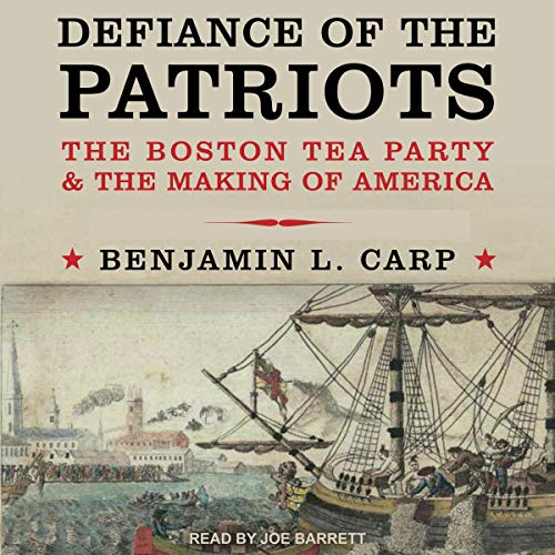 Defiance of the Patriots audiobook cover art