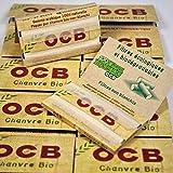 Lot de 50 cahiers de 100 feuilles de Papier a rouler OCB - Chanvre Bio