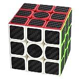 Coolzon Zauberwürfel 3x3x3 Speed Cube Würfel Carbon Faser Aufkleber Neue Geschwindigkeits Super...