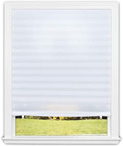 Redi Shade 1355199 Original Light Filtering Pleated Fabric Shade White, 48 in x 72 in, 2-Pack