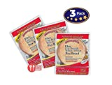 Value 3-Pack: Joseph's Flax Oat Bran and Whole Wheat Pita Bread, Reduced Carb (6 per Pack, 18 Pitas Total)