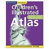 Advantus Rand Mcnally スクールハウス 子供用 アメリカアトラス ハードカバー 112ページ