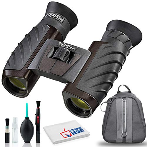 Steiner 10x26 Safari Ultrasharp Binocular with Cleaning Kit and Bag