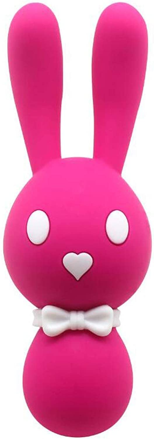CQ Cute Rabbit Portable Massager Movement Easy to Stimulate Female Massage Home Daily Personality Toys