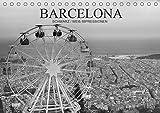 Barcelona Schwarz / Weiß Impressionen (Tischkalender 2021 DIN A5 quer): Fantastische Impressionen in schwarz / weiß der wunderbaren katalonischen Stadt Barcelona (Monatskalender, 14 Seiten )