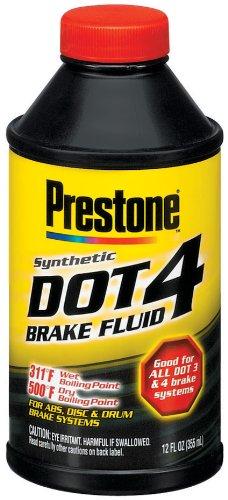 Prestone AS800P Dot 4 Brake Fluid - 12 oz.