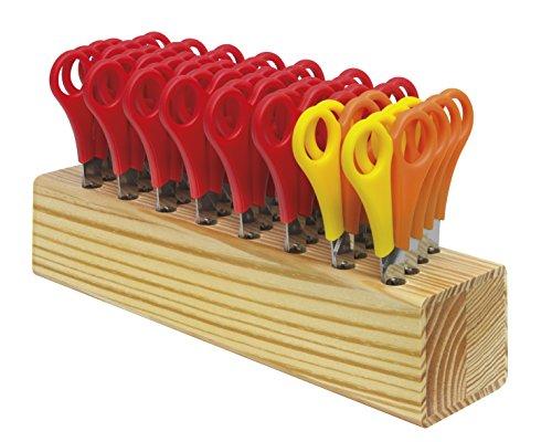 Westcott 112TidyC 00 Scheren Block aus Holz, 13 cm, sortiert