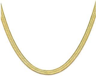 Finejewelers 14k 6.5mm Silky Herringbone Chain Necklace