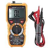 Electrotécnico Digital Multímetro PM18 Multímetro Digital portátil Probador de Resistencia de Voltaje de Corriente Instrumento de medición de Electricista Probador Digital Multifuncional