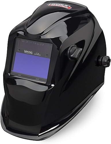 wholesale Lincoln online sale Electric Viking 1840 Black Welding Helmet - Auto Darkening - popular 4C Lens Technology - K3023-3 outlet online sale