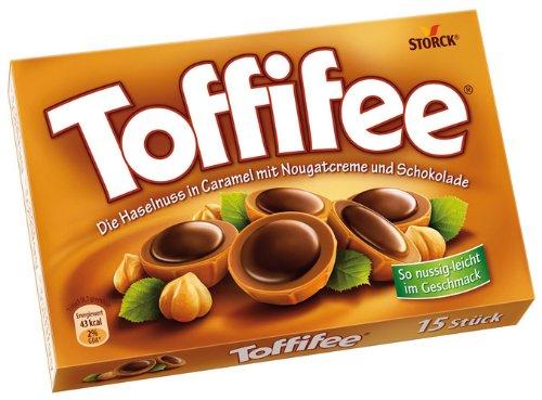 Toffifee, 15 Stück - 125gr - 6x