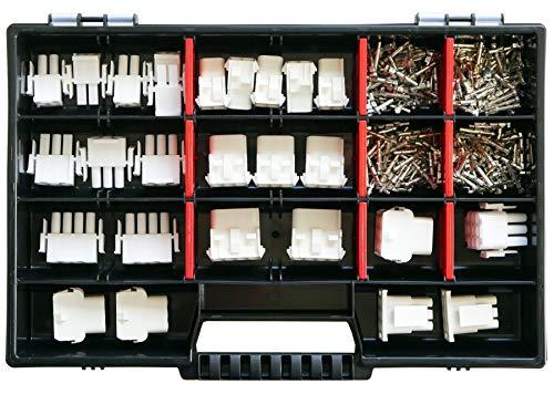 Sortiment Set Universal-Mate-N-Lok Stecker TYCO AMP in 2-, 3-, 4-, 6- u. 9 polig