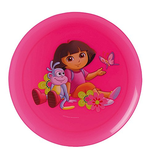 FUN HOUSE Dora Ensemble de 2 Assiettes diamètre 20 cm