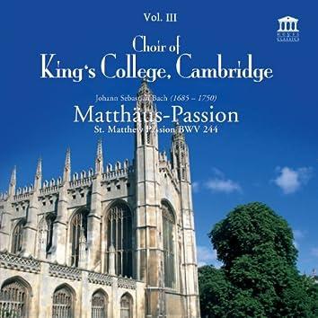 Bach: Matthäus-Passion / St. Matthew Passion, BWV 244, Vol. 3
