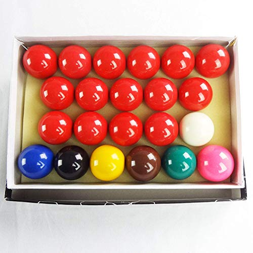 "2-1/16"" Snooker Balls Complete Set 22 Balls"