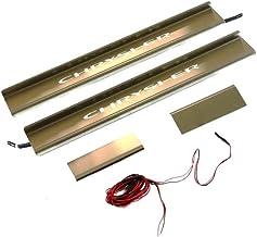 Mopar 82212284 Stainless Steel Illuminated Door Sill Guard 4 Pack