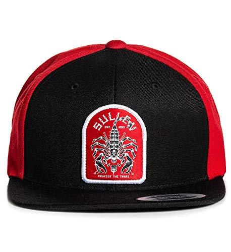 Sullen Men's Sting Snapback Hat Black/Red