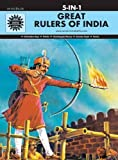 Great Rulers of India 5 in 1:Amar Chitra Katha 5 in 1 Series)