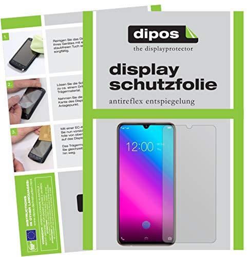 dipos I 6X Schutzfolie matt kompatibel mit Vivo V11 Folie Bildschirmschutzfolie