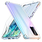Losvick Case for Galaxy S20 with 2x Screen Protector TPU