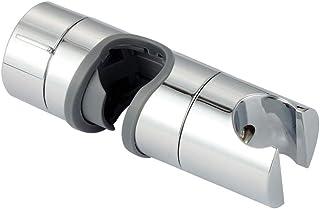 Goolsky Adjustable Hand Shower Bracket for Slide Bar 18-25MM Diameter Polished Chrome Replacement Handheld Shower Head Holder