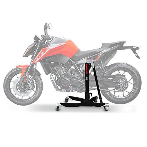 ConStands Power Classic-Zentralständer für KTM 790 Duke 18-20 Schwarz Matt Motorrad Aufbockständer Heber Montageständer