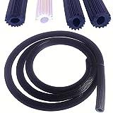 1,00 €/m 10 metros negro Ø 6 mm goma para mosquitera mosquitera mosquitera banda de refuerzo PVC cordón