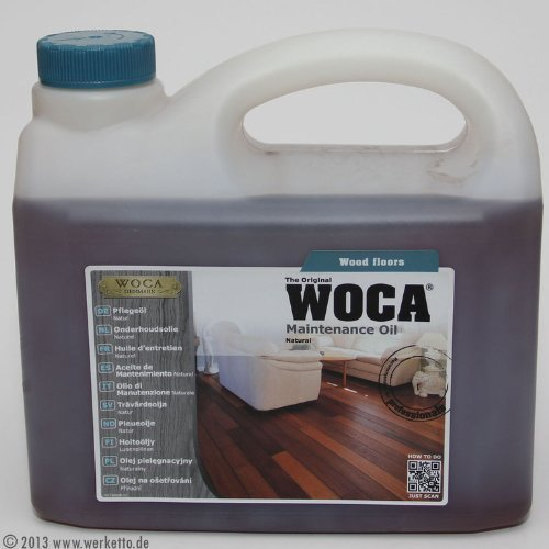 Woca Maintenance Oil - Natural (2.5 liter) by Woca