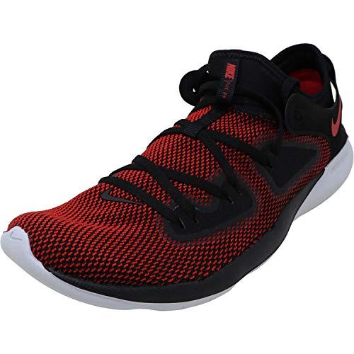 Nike Men's Flex RN 2019 Running Shoe Black/University Red/Pure Platinum Size 9.5 M US