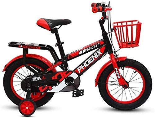 REWD Bicicletas Ligeras para niños Estilo Libre de la acera Bici de BMX para-niños, Los niños y Principiantes de Nivel a los Jinetes avanzados, 14-16 Pulgadas, Marco de Acero Hi-Ten, Micro Drive
