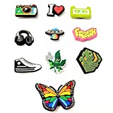 Shoe Charms decoration accessories bag packs for women kids boys girls adults teens for clog shoes and sandals | cute bling cool party favors decorations