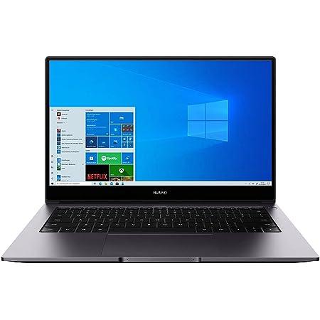 HUAWEI MateBook D 14 Zoll Laptop, FullView 1080p FullHD Ultrabook, Windows 10 Home, Intel Core i5-10210U, 16GB RAM, 512GB NVMe PCIe SSD,Fingerabdrucksensor,versteckbare Kamera,QWERTZ-Layout,Space Gray