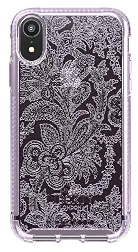 tech21 Pure Design for Apple iPhone XR Liberty London Phone Case with 10 ft Drop Protection