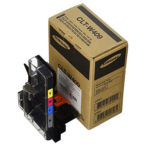 Samsung CLT-W409/SEE Original Toner (Hohe Reichweite, Kompatibel mit: CLP-310/CLP-315/CLX-3170/CLX-3175 Series, CLP-320/CLP-325/CLX-3185 Series) cyan