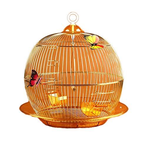 Mode Boutique Vogelkäfig Metall Schmiedeeisen Vogelkäfig Budgie Käfig Dekoration Zierkäfig Zuchtkäfig